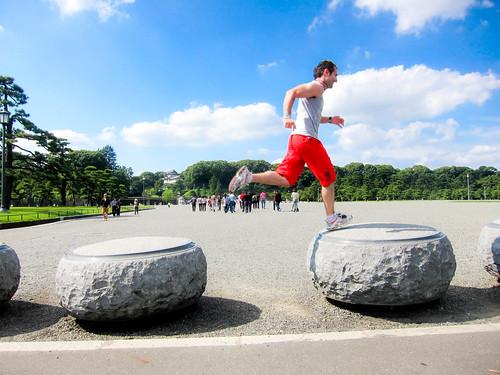 Saturday morning run at Tokyo Imperial Palace - SPORT TIME