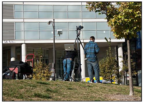 Photographers at Montgomery Ward Park