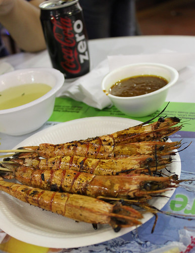 Prawn Satay at Lau Pa Sat
