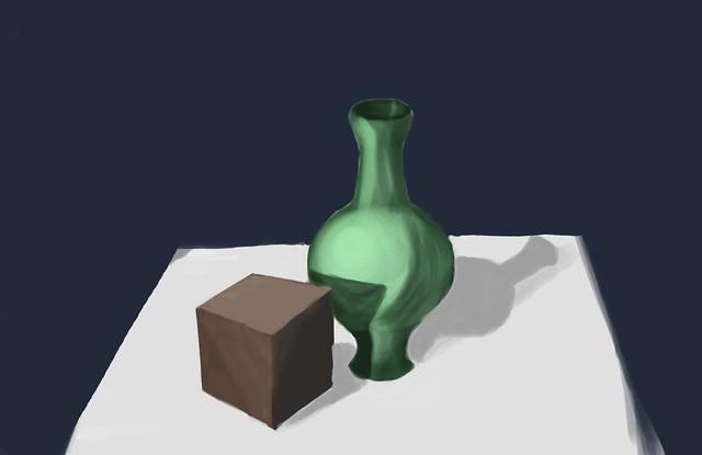 Cub cu vază