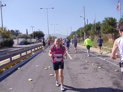 Running 2010 Athens Marathon in Vibrams