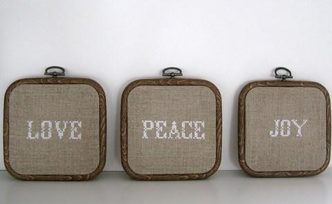 Love - Peace - Joy