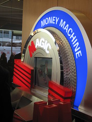 Metro Bank launch - magic money machine