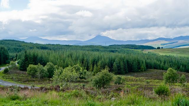View near Aberfeldy