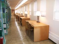 Lower Level Study Desks
