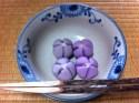 """今日のお菓子 No.5 – 和菓子 """"桔梗(ききょう)"""""""