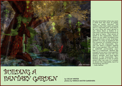 Prim Perfect No.28 - Creating a Fantasy Garden