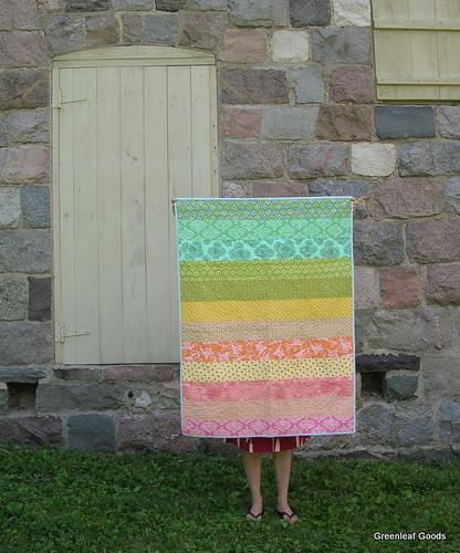Striped Wedding Quilt