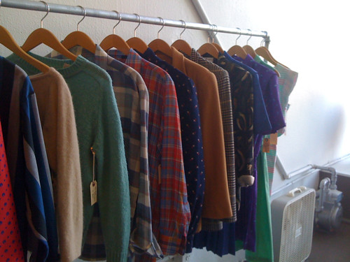 Vintage clothes at Hoot + Louise