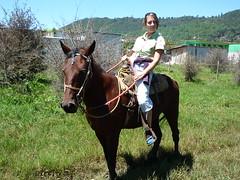 Sarah hoch zu Ross, Ausritt nach Chamula