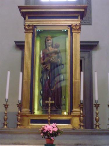 Madonna con bambino Bentornata