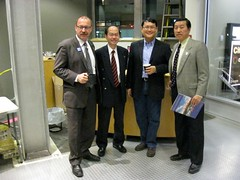 Ric McIver with members of Calgary's Chinese community at BT - pix 1
