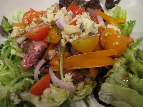 steak salad compressed