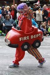 Clown of the Fire Dept