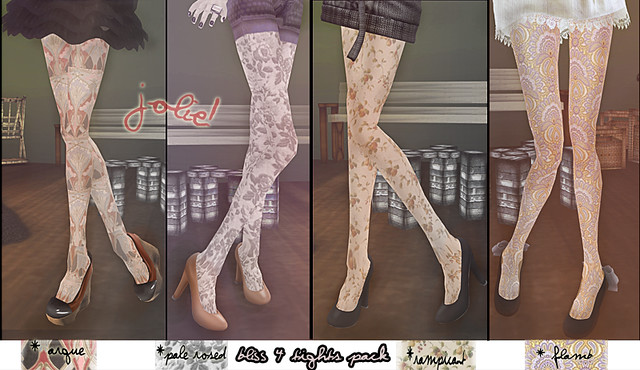 Bliss 4 tights pack [New@jOLIE!]