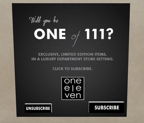 One Eleven Subscription Kiosk