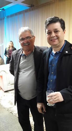 O vereador de Ipatinga Tonico e Luís Henrique Alves