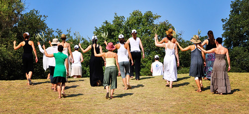 priestesses on the hill