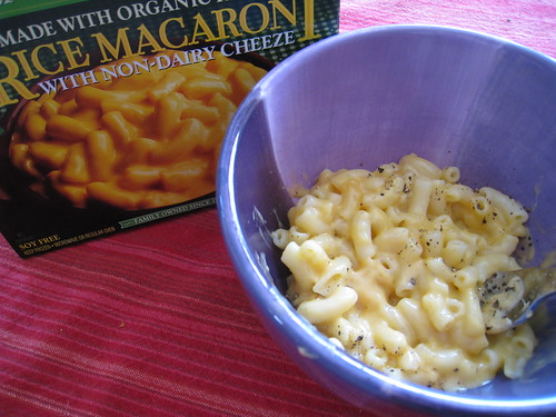 Rice Macaroni and Cheeze