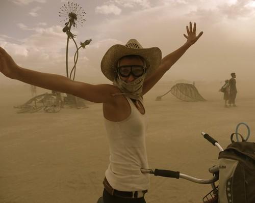 Burning Man Julia Dimon