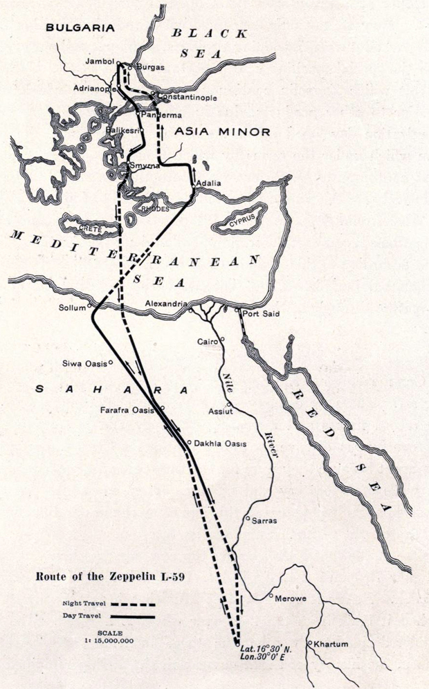 Mapa del vuelo