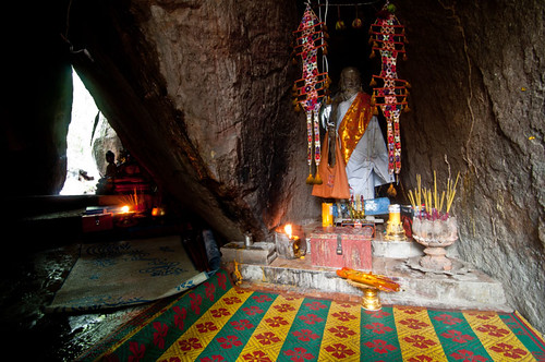 Shine in mountain cave, Kulen Mountain