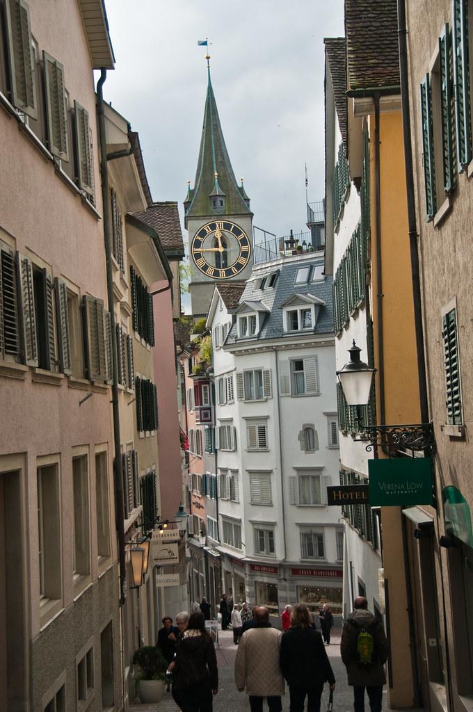 Street scene, Zurich