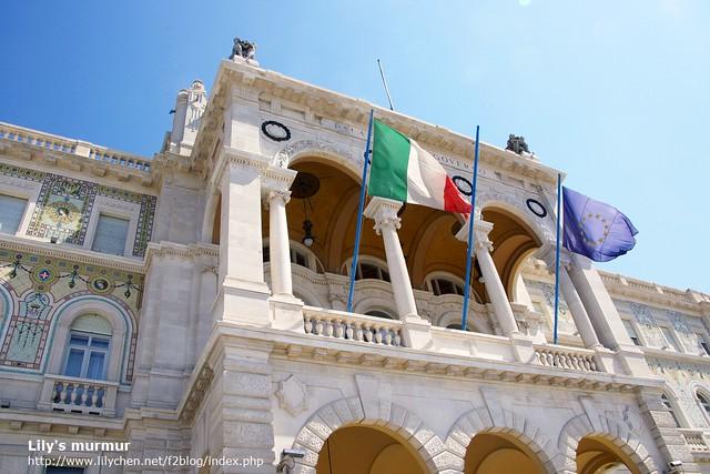 Unity of Italy Square of Treste, Treste廣場。