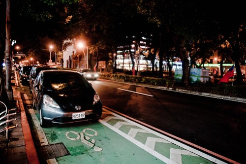 Universal Constants: Bike Lanes Are (Apparently) For Parking
