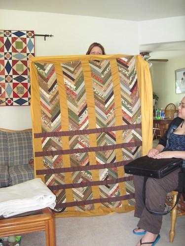 Lisa's braid quilt