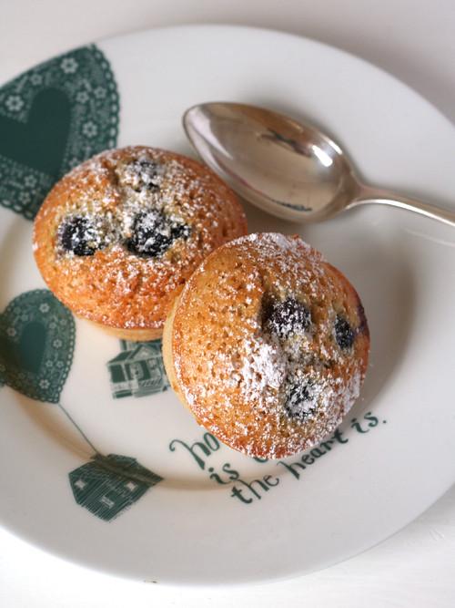 blueberry buckwheat friands