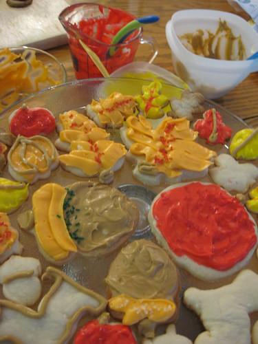 autumn decorator cookies 2