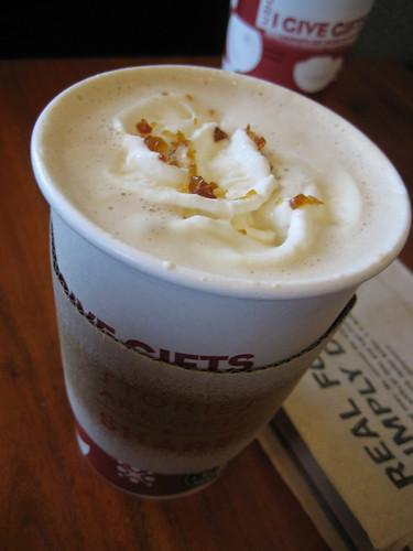 Starbucks Caramel Brulee