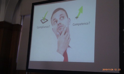 Compliance or Competence