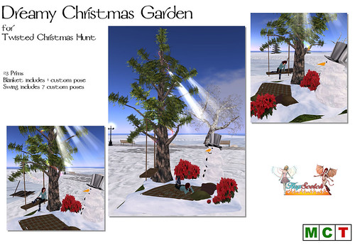 Dreamy Christmas Garden for Twisted Christmas Hunt