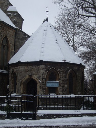 St Faiths Church Snow Covered Chapel