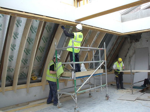 Ceiling Coving Being Formed