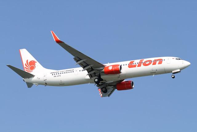 Lion Airlines B737-900ER(PK-LFS)
