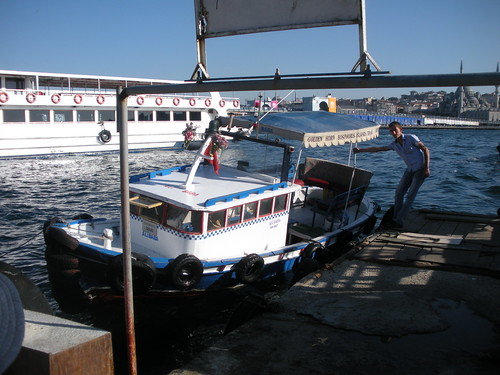 Golden Horn water taxi