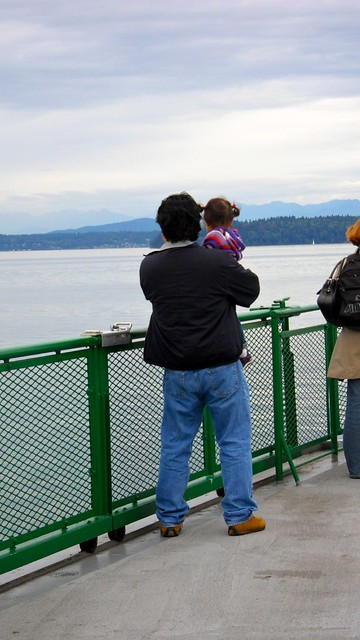 Z's first ferry ride