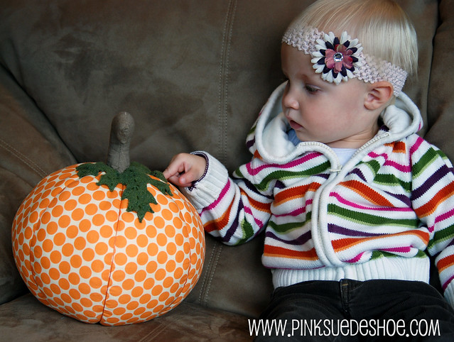 Creamie and the pumpkin