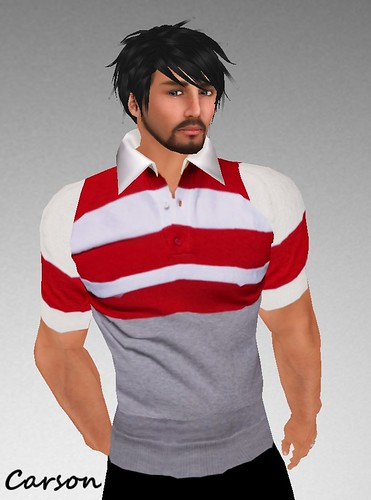 MHOH4 # 73 - Style Extrem  Stud Red Polo