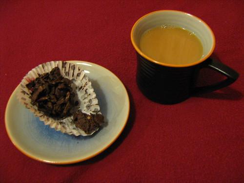 tea and crunchy
