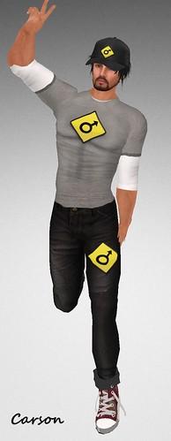 MHOH4 # 114 - B&TMale Jeans, Shirt and Cap