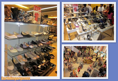 Shoes at SM Department Store Cubao