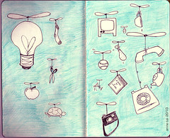 The Sketchbook Project - pg 3&4