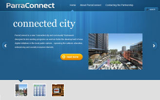 ParraConnect homepage
