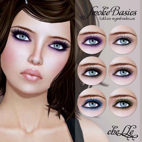 cheLLe - Smoke Basics (tattoo eyeshadows)
