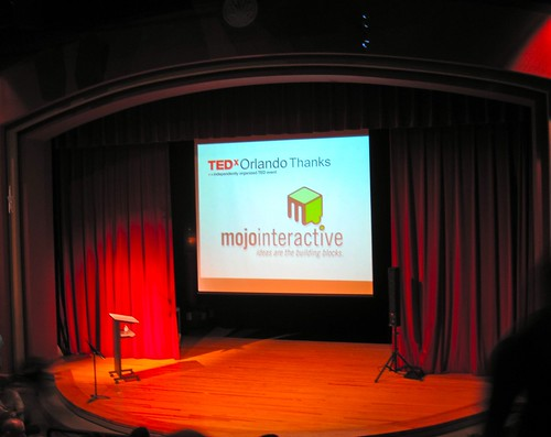 The stage is set at TEDxOrlando