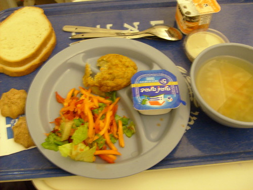 Second meal at hospital
